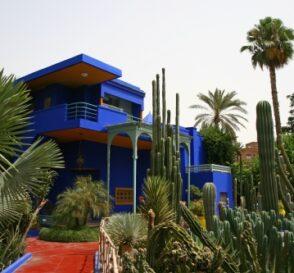 Jardines en Marrakech, esplendor en Marruecos 1