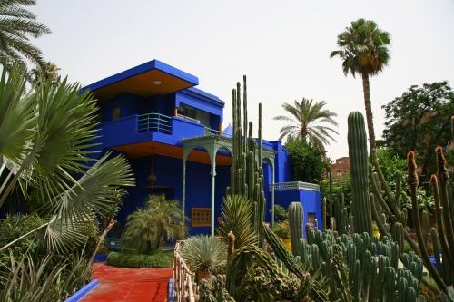 Jardines en Marrakech, esplendor en Marruecos