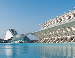 La Ciudad de las Artes y las Ciencias en Valencia 1