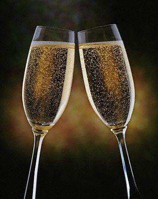 copas champagne