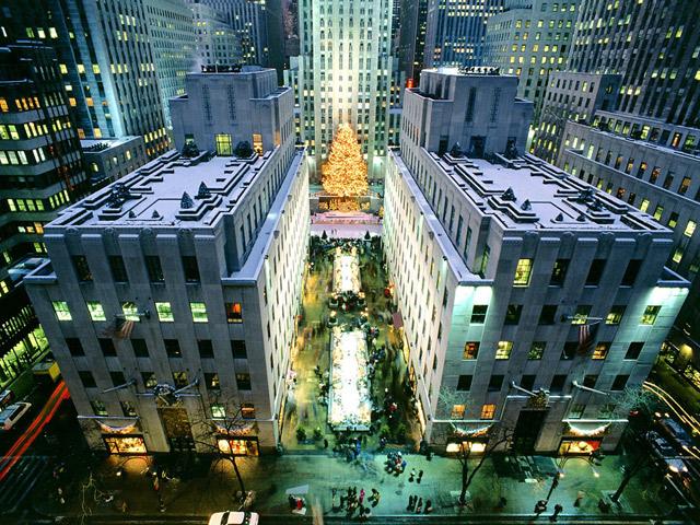 Navidad en Nueva York, un mundo de luces.