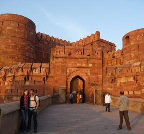 La Fortaleza Roja de Agra en la India 2