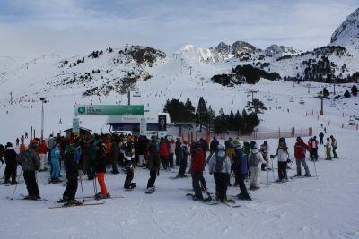 Grandvalira esqui-