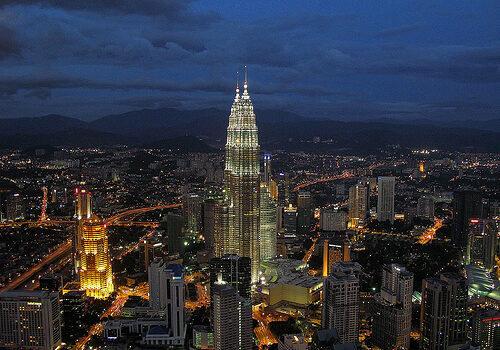 Rascacielos en Kuala Lumpur 2