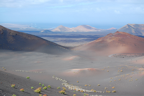 Dos parajes de Lanzarote