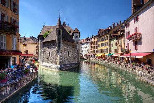 Annecy, preciosa ciudad en Francia