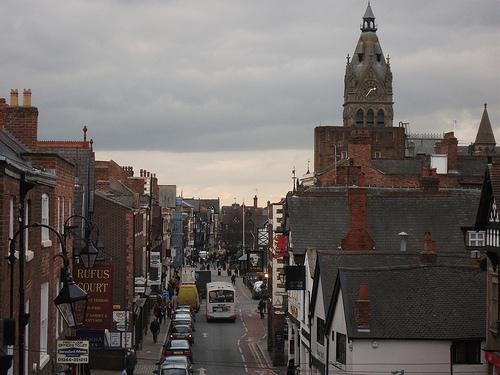 Chester, historia en Inglaterra