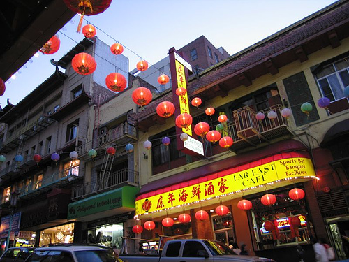 El Barrio de Chinatown en San Francisco