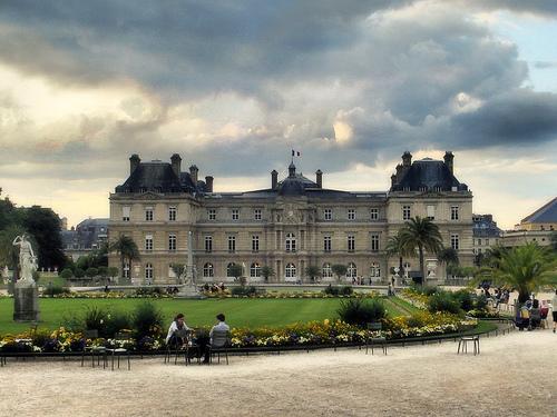 El Jardín de Luxemburgo en París