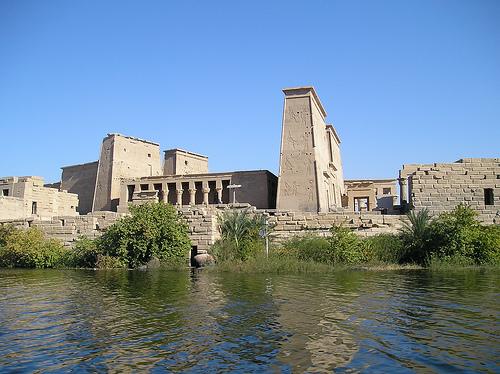El Templo de Isis en Egipto
