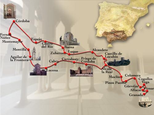 Ruta del califato de Granada a Córdoba