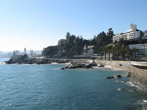 Visita a Viña del Mar, en Chile 1