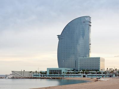 Los últimos hoteles construidos en Barcelona