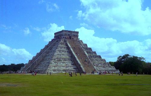 Ruinas mayas en el Yucatán