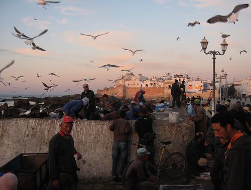 Essaouira, en el desierto de Marruecos