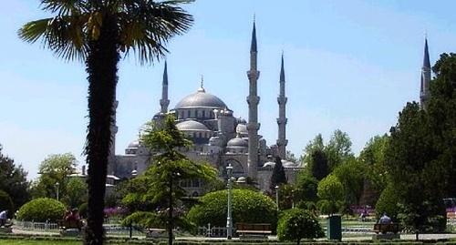 La Mezquita Azul en Turquía