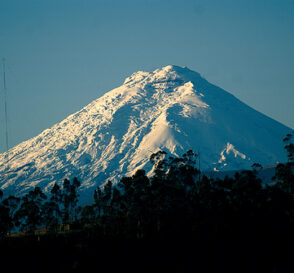 La Avenida de los Volcanes en Ecuador 2
