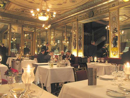 Restaurantes románticos en París