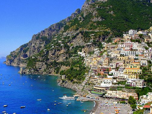 La Costa de Amalfi en Italia