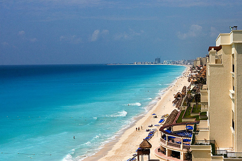 Playas en Cancún