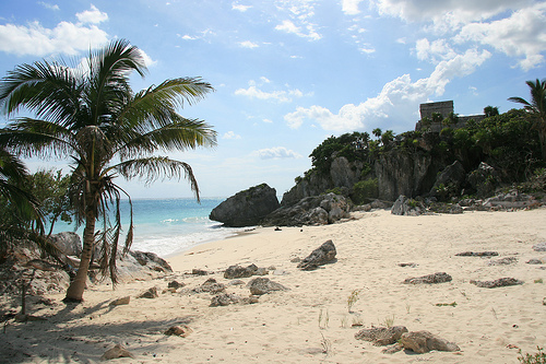 Playas en la Riviera Maya 1