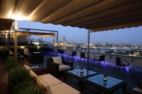 Las terrazas de hoteles en Barcelona abren temporada