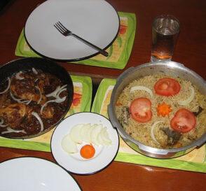 Comer en Delhi 2