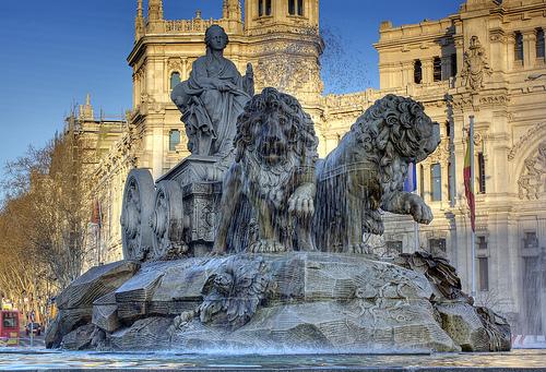 Las mejores fuentes de Madrid