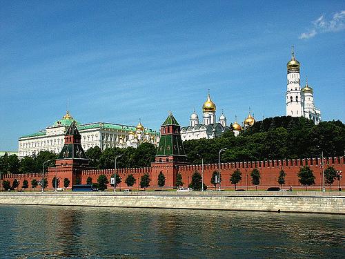 Visita el Kremlin en Moscú