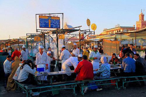 Gastronomía de Marrakech