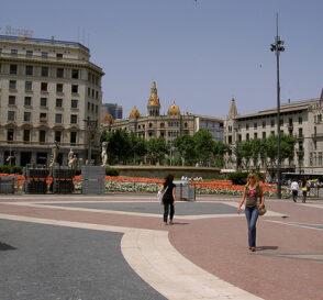 Plazas singulares de Barcelona I 2