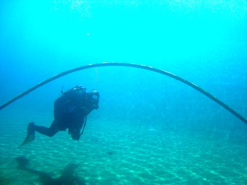 Submarinismo en el Lago del Forn, en Andorra