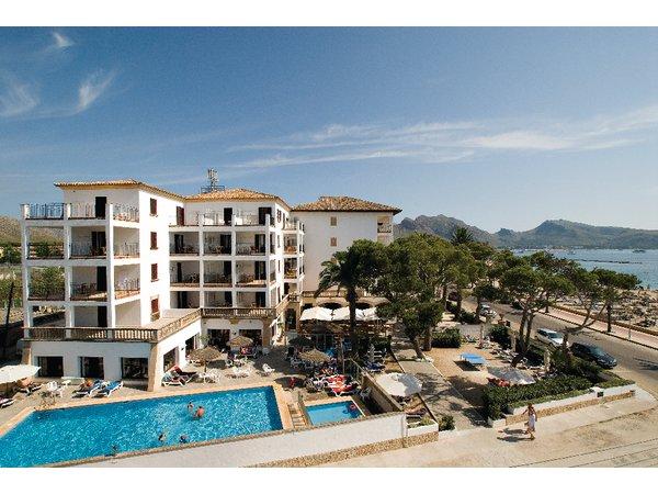 Hotel Uyal en Puerto Pollensa, Mallorca