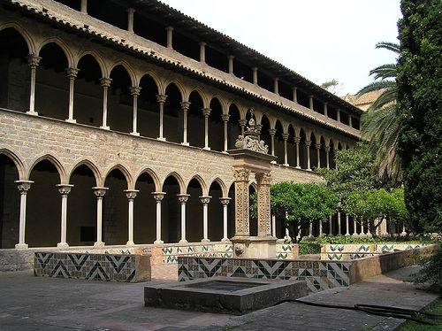 El Monasterio de Pedralbes en Barcelona