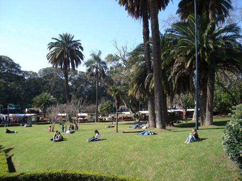 El barrio de Recoleta en Buenos Aires