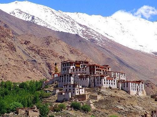 Monasterios budistas en Ladakh, India