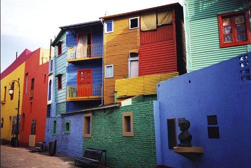 El Caminito en Buenos Aires 1