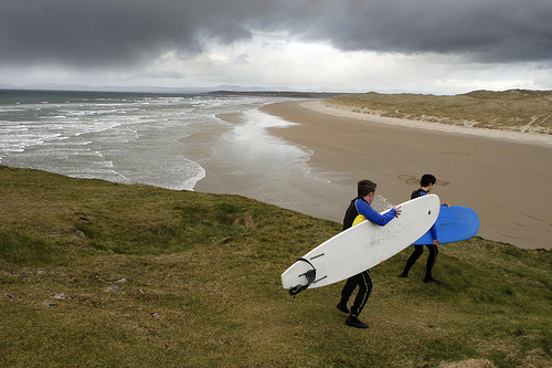 Playas en Donegal, Irlanda
