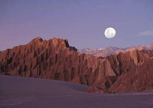 El Desierto de Atacama en Chile 1