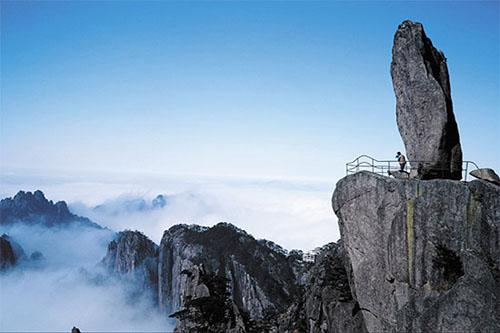 Las Montañas Huangshan en China 12