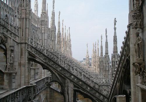 Por el casco antiguo de Milán 9