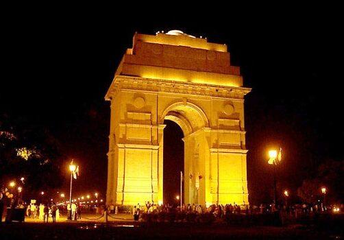 La Puerta de la India en Delhi 3