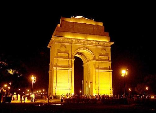 La Puerta de la India en Delhi 1