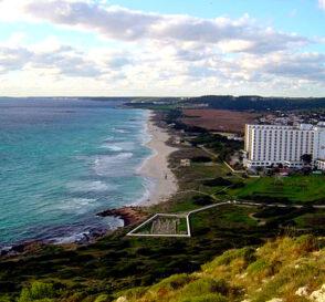 La Playa de Son Bou en Menorca 3