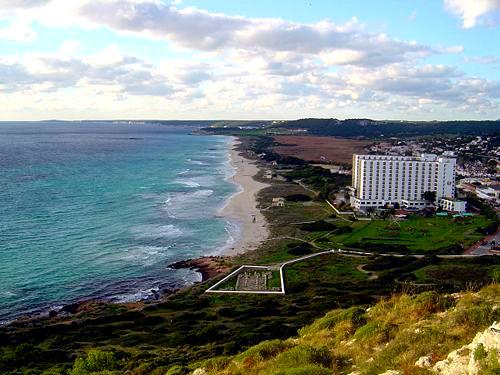 La Playa de Son Bou en Menorca