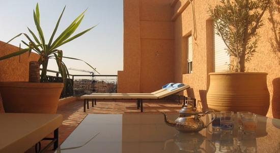 Conoce un Riad en Marrakech