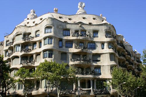 La Pedrera, Casa Milá en Barcelona