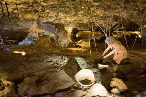 Cueva de las Ventanas en la provincia de Granada
