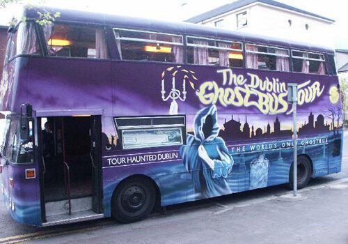 Ghost Bus Dublín, ruta de fantasmas 15