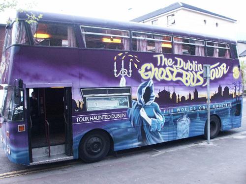 Ghost Bus Dublín, ruta de fantasmas 1